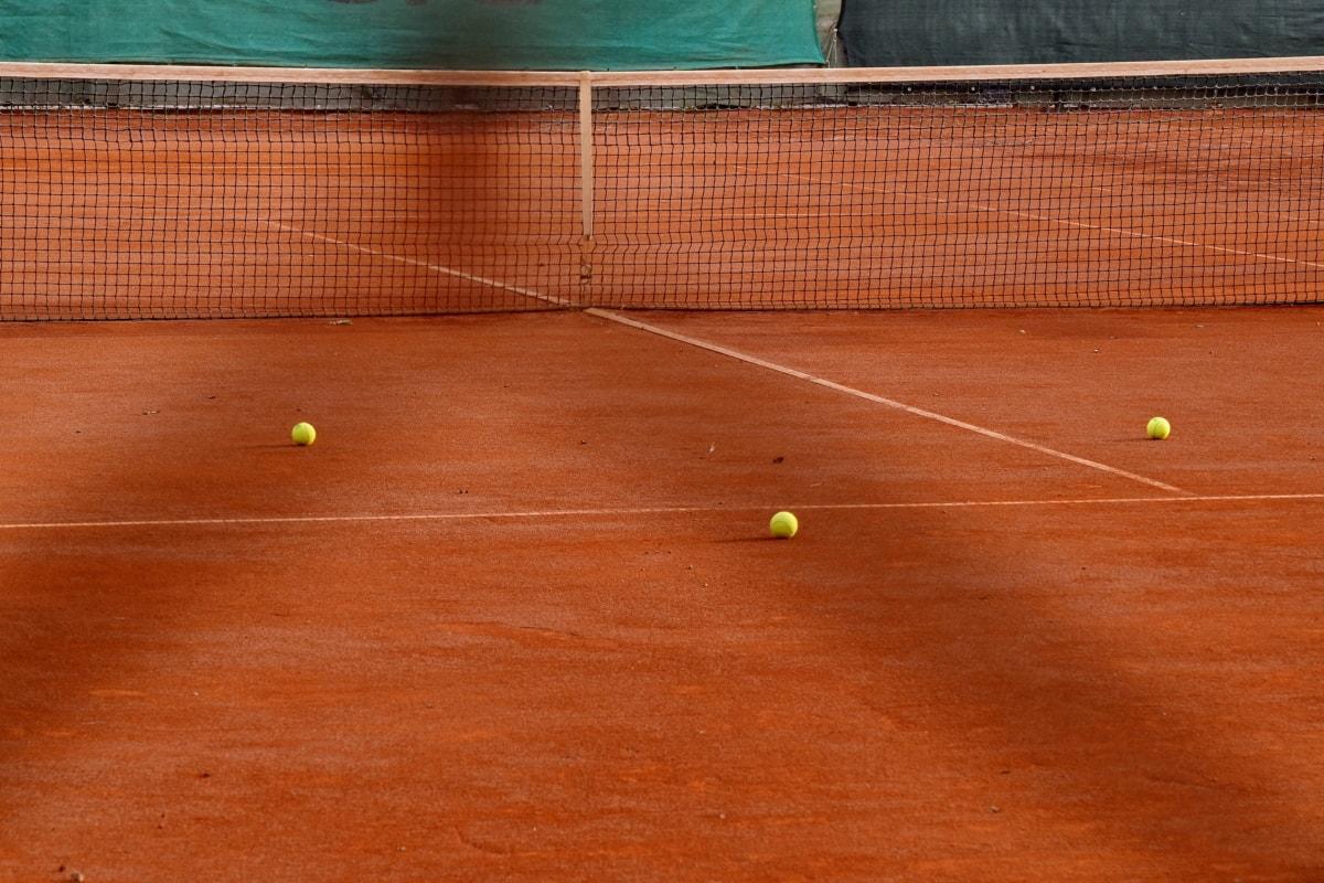 ลูกบอล, เครือข่าย, เทนนิส, เทนนิส, กีฬา, ไม้แบดมินตัน, ทัวร์นาเมนต์, เกม, เว็บ, การแข่งขัน