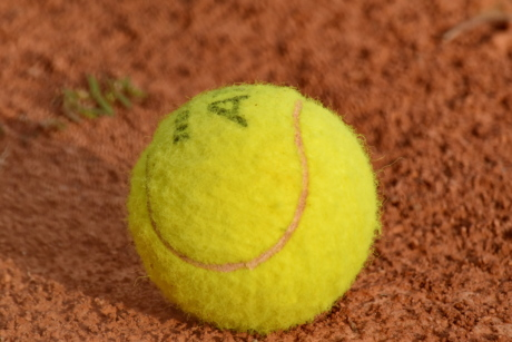 ball, greenish yellow, tennis court, tennis, game, competition, sport, equipment, ground, recreation