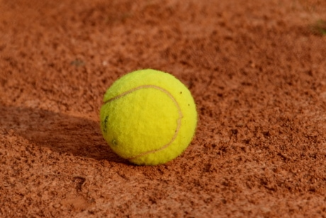 ball, competition, game, sport, tennis, equipment, ground, soil, recreation, outdoors