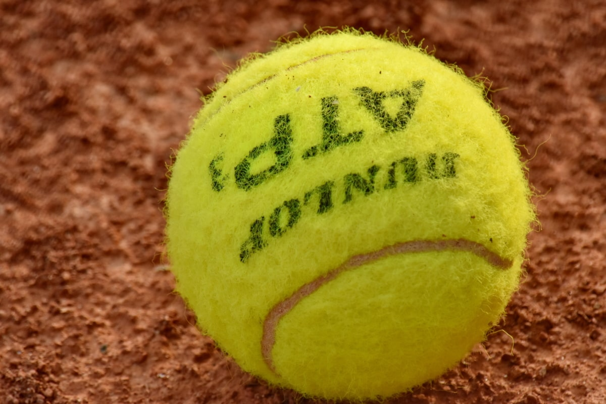 ball, beautiful photo, close-up, detail, tennis court, tennis, play, competition, game, sport