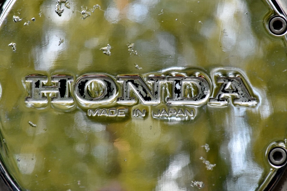 bicromato di potassio, Giapponese, moto, segno, in acciaio inox, riflessione, bere, metallizzato, natura, simbolo