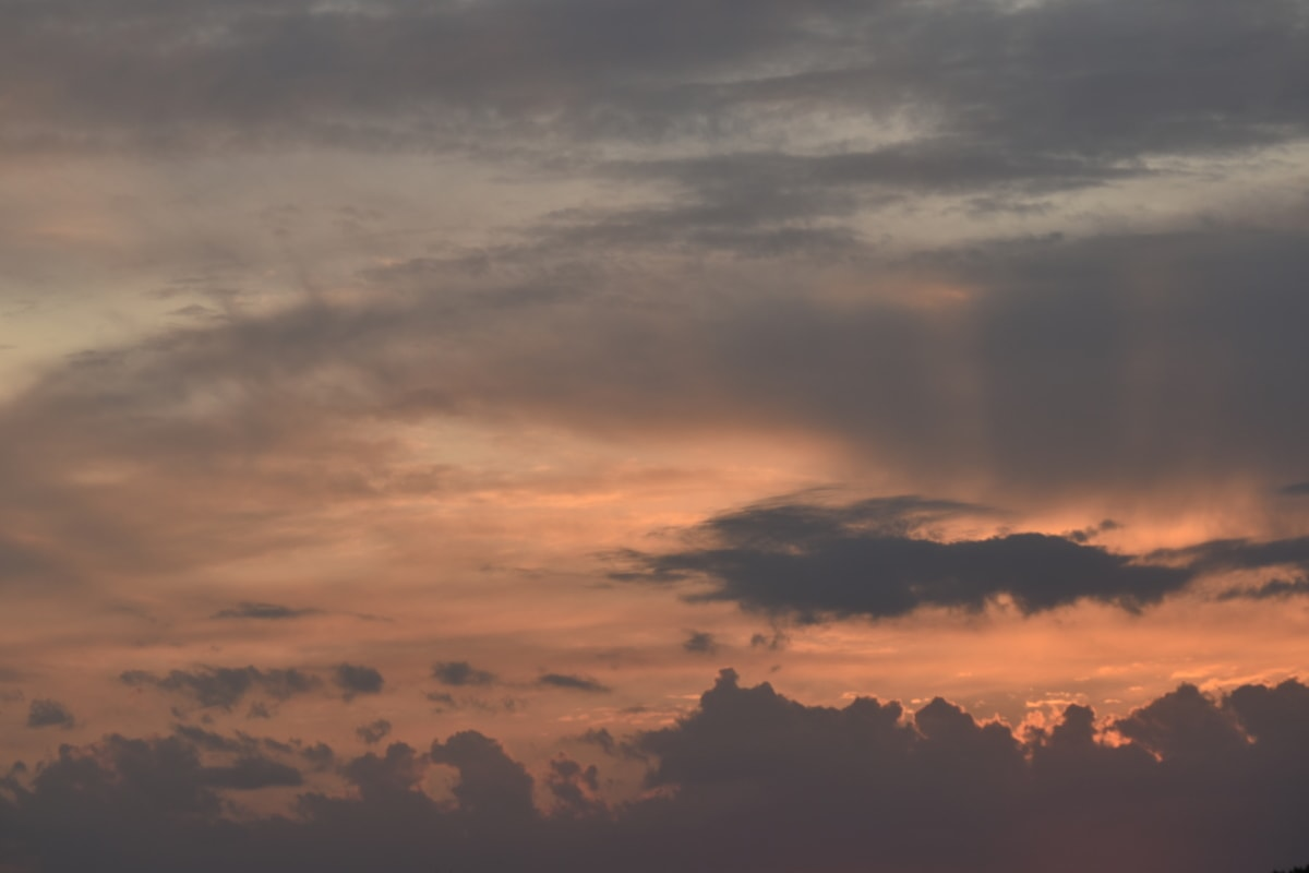 clouds, cumulus, overcast, sun, cloud, sunset, nature, dawn, atmosphere, weather