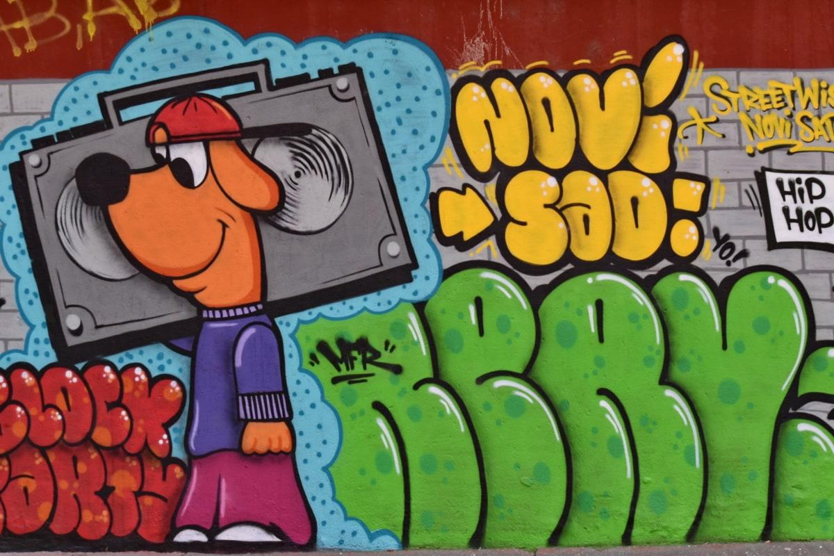 arta, frumos, proiectare, graffiti, zonă urbană, efecte vizuale, culoare, decor, educaţie, distractiv