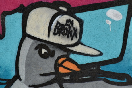 bird, graffiti, art, creativity, decoration, design, graphic, illustration, mural, old
