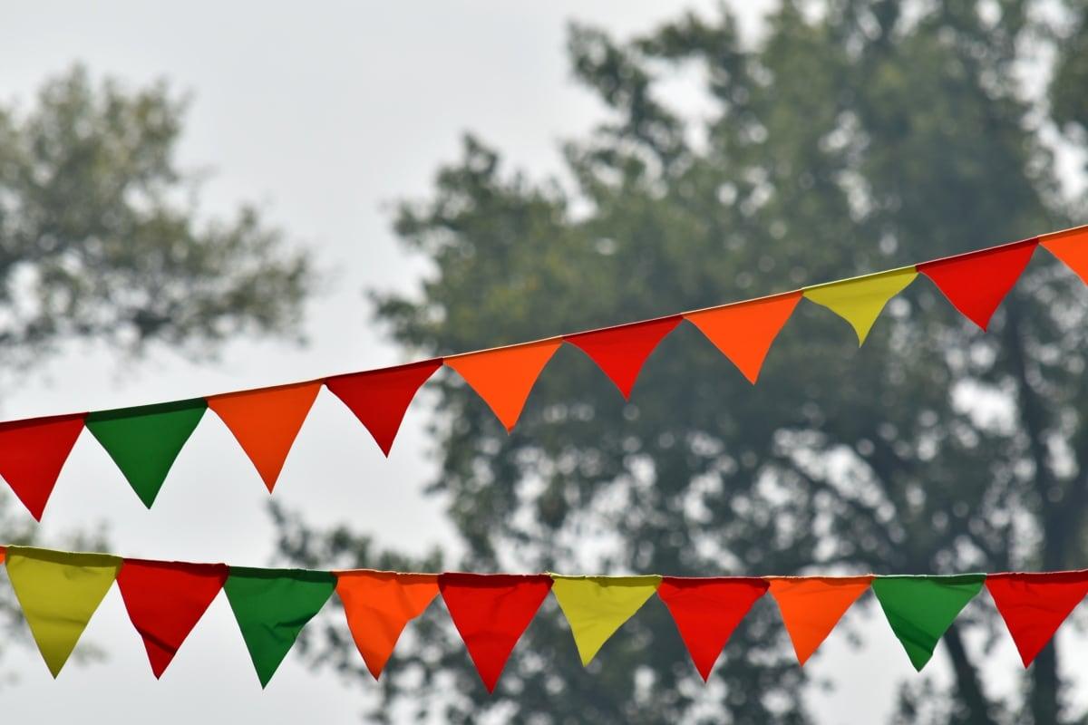 karneval, festival, park, stranka, trokut, nacionalno, vješanje, simbol, Grb, zastava