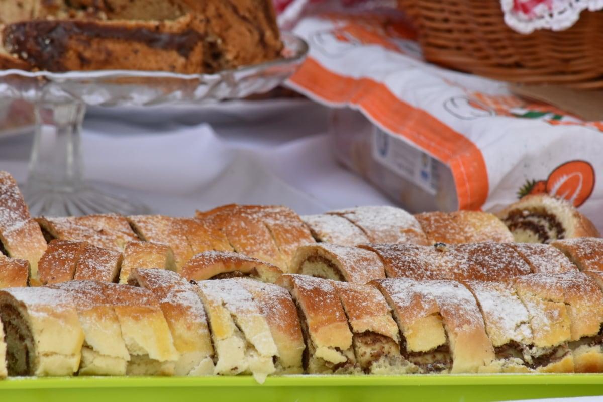 wypieki, ręcznie robione, ciasto, pie crust, Pasztety, pieczenia, śniadanie, chleb, pyszne, posiłek