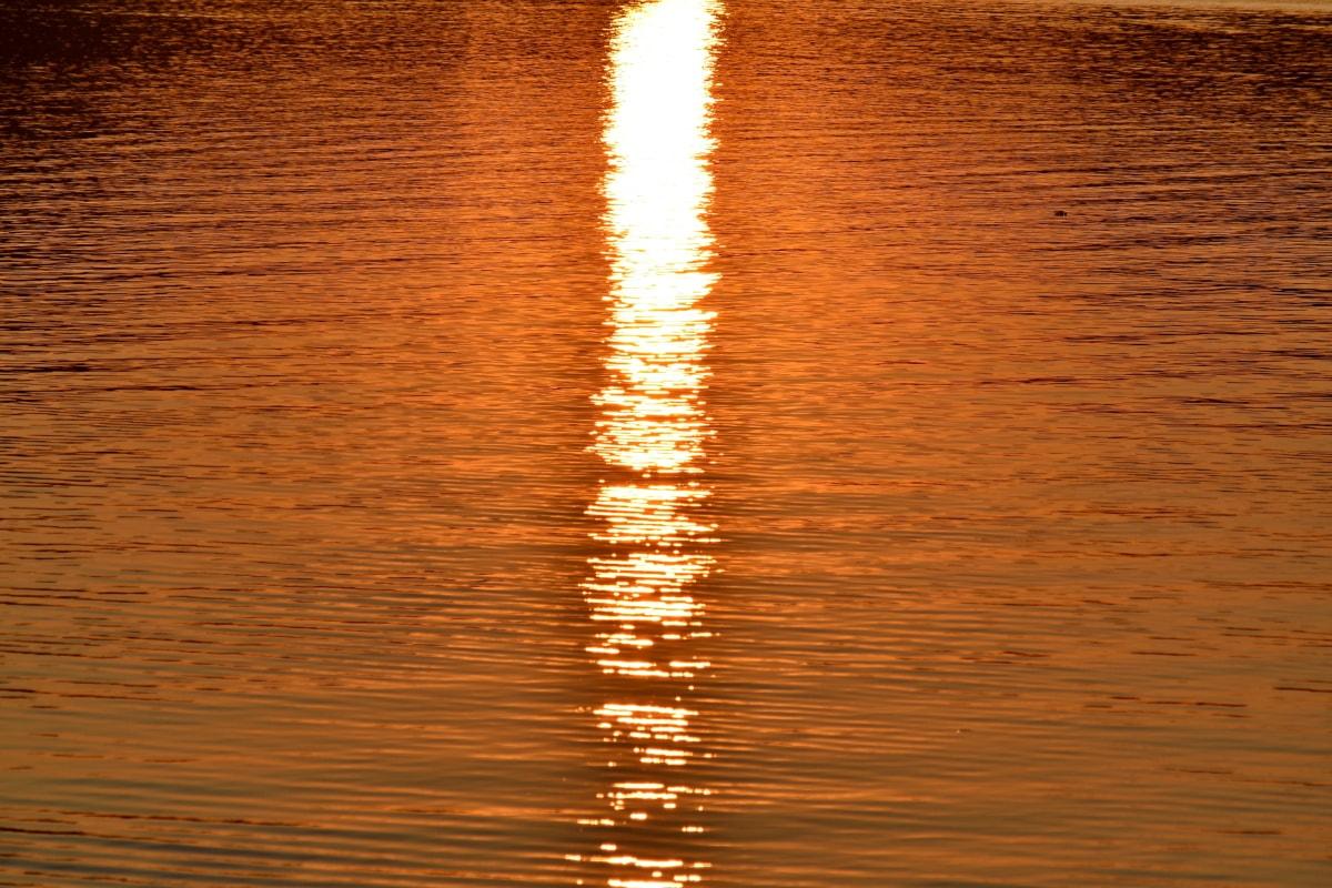 Bình tĩnh, chân trời, Sunrays, mặt trời mọc, sóng, tài liệu, Mô hình, kết cấu, bảng điều khiển, hoàng hôn