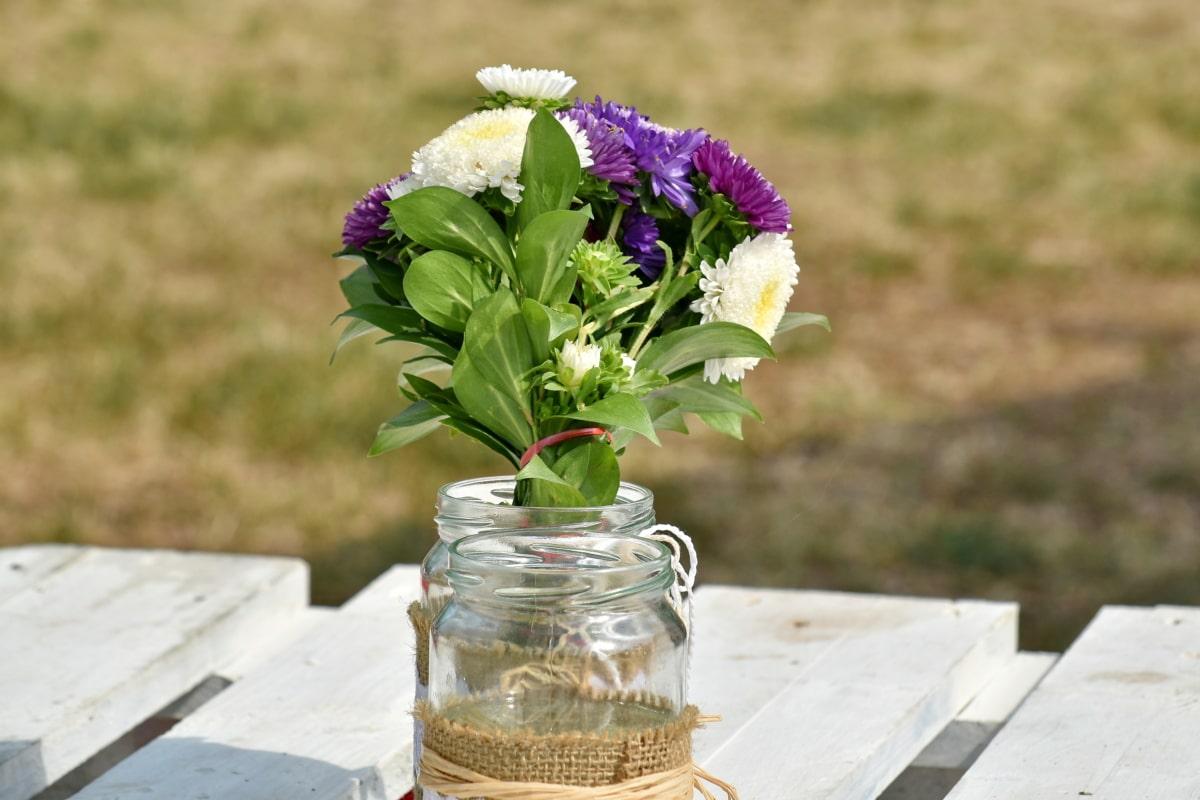 järjestely, kimppu, Työpöytä, jar, varjo, maljakko, kukat, Luonto, sisustus, kukka