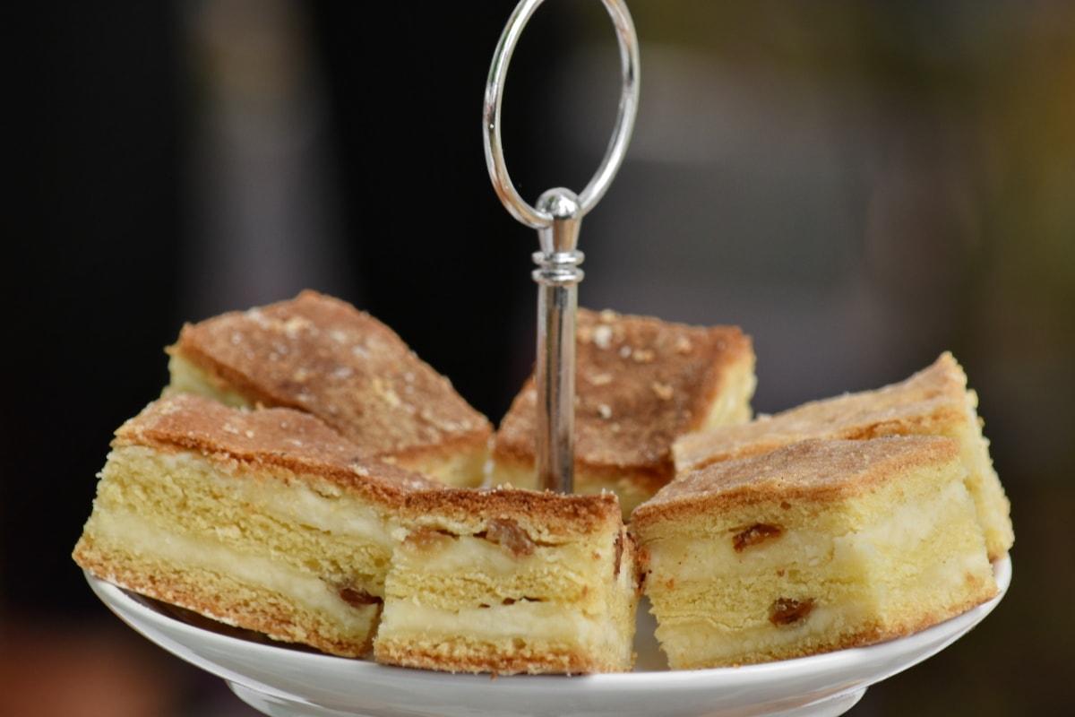 smör, småkakor, grädde, druvor, mellanmål, läckra, bröd, frukost, mat, bakelse