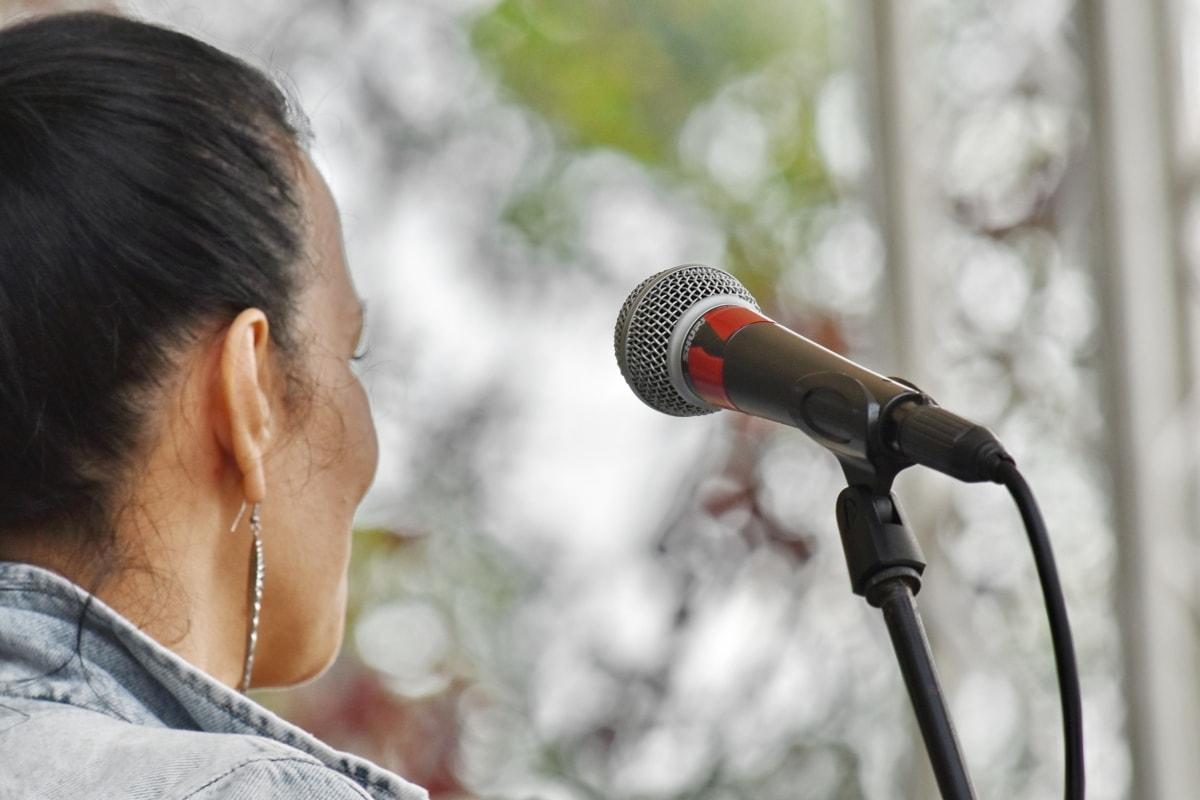 musica, microfono, verticale, cantante, Festival, concerto, persone, prestazioni, orizzontale, musicista