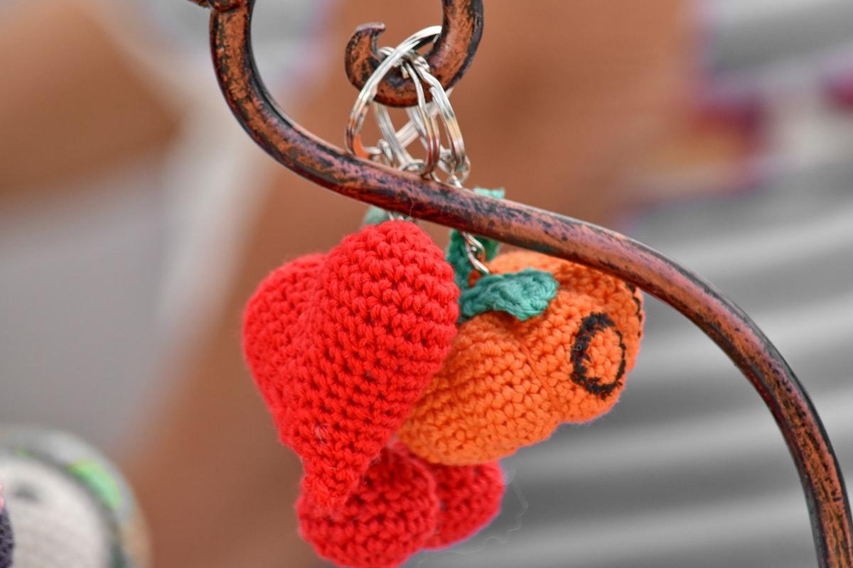 làm bằng tay, trái tim, dệt kim, đồ chơi, nút, bộ móc kẹp, Yêu, truyền thống, ngoài trời, lãng mạn