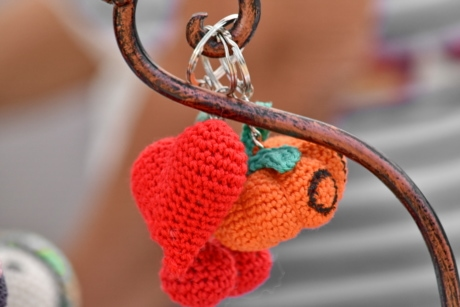 handmade, hearts, knitting, toys, knot, fastener, love, traditional, outdoors, romance