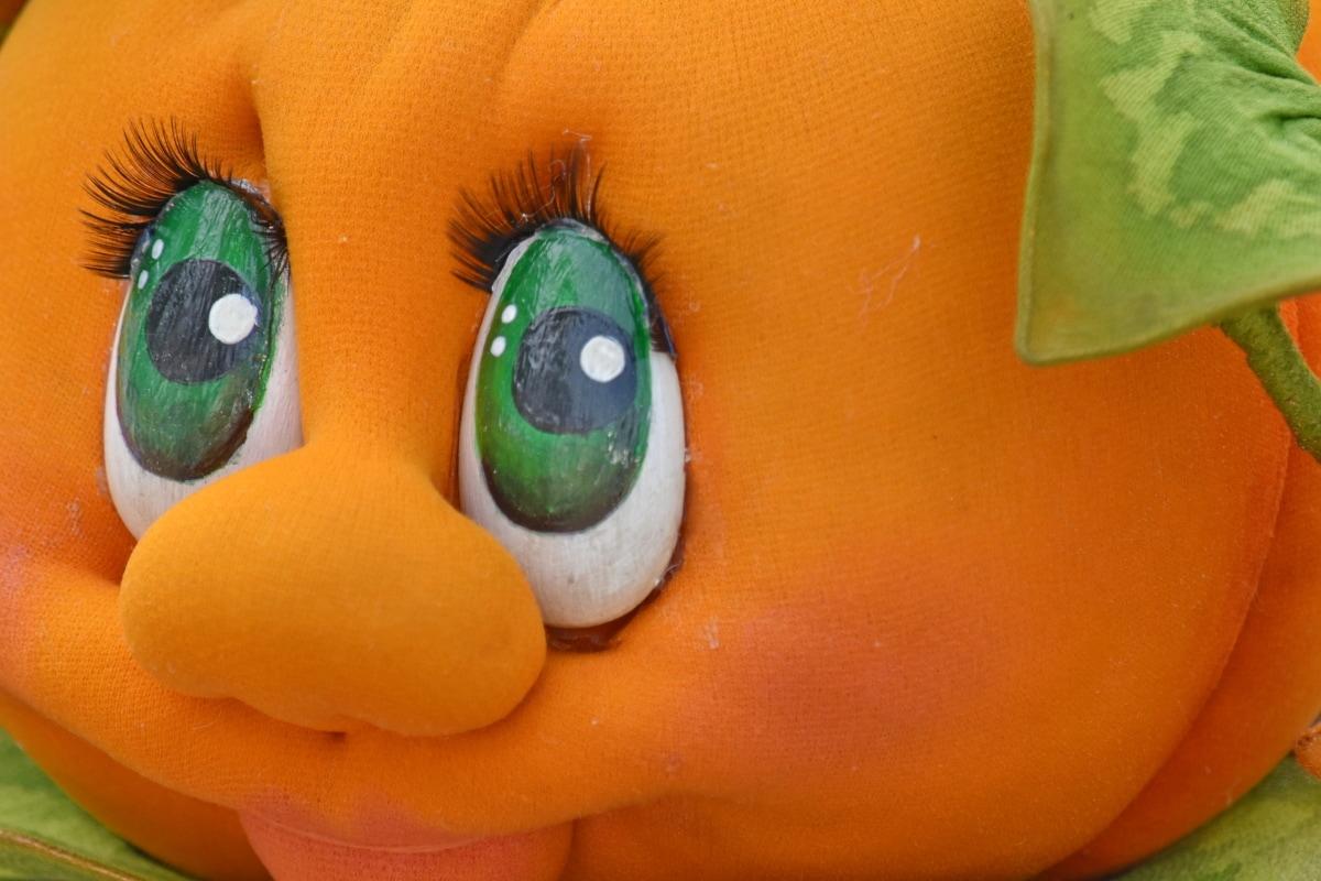 komik, el yapımı, Kabak, Renk, Dekorasyon, gözler, yüz, nesne, Natürmort, oyuncak