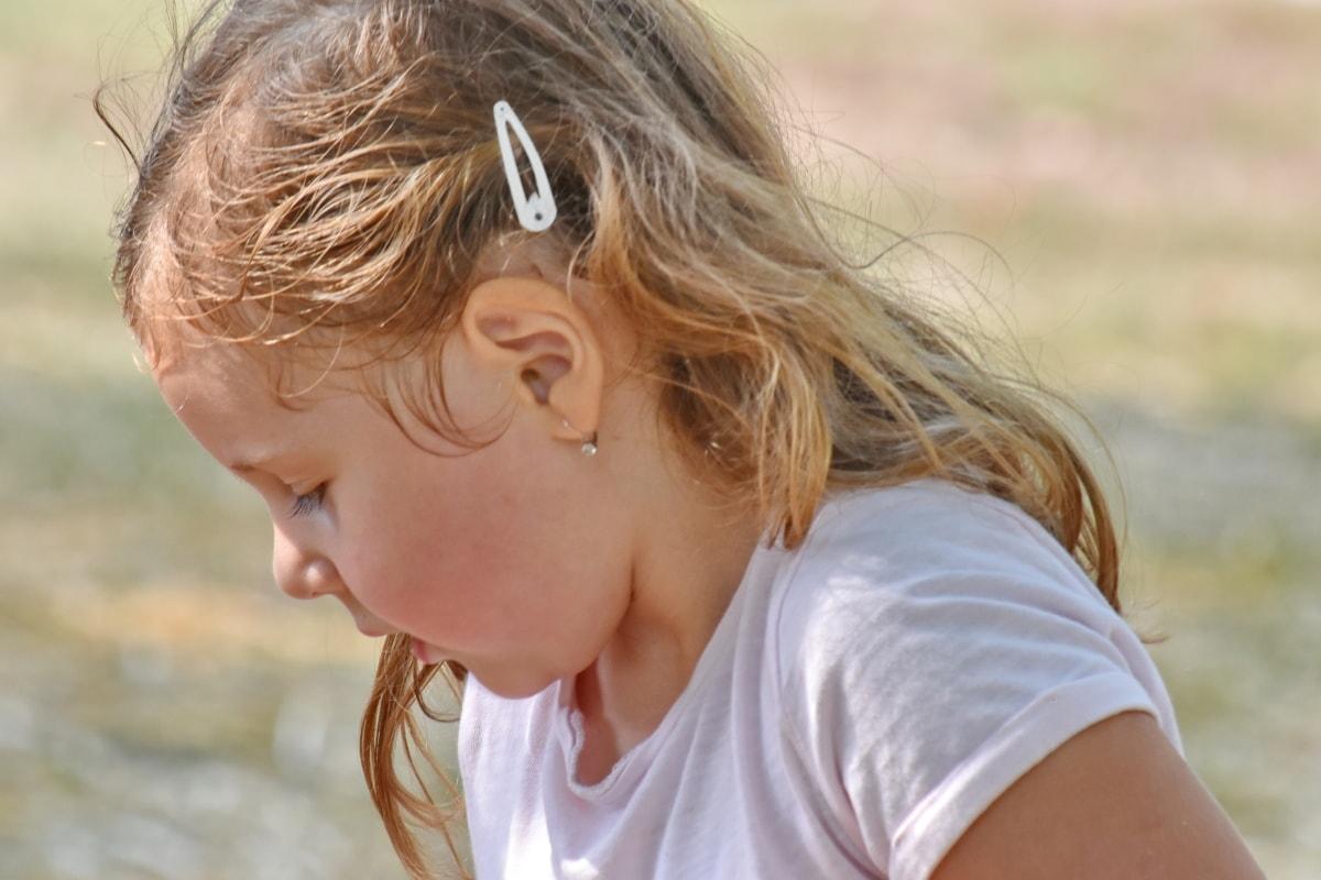 enjoyment, playful, school child, summer season, summer, child, nature, cute, outdoors, fair weather