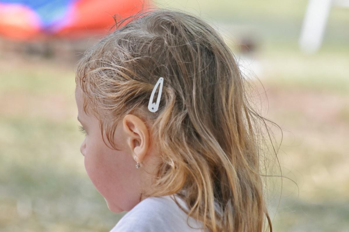 Природа, ребенок, Лето, на открытом воздухе, Fun, мило, девушка, досуг, довольно, трава
