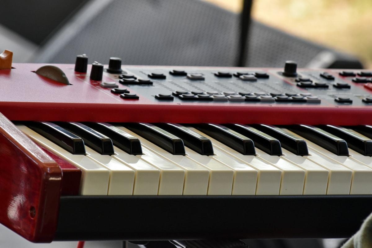 Studio, synthesizer, geluid, ebbehout, concert, piano, instrument, audio, muziek, lied