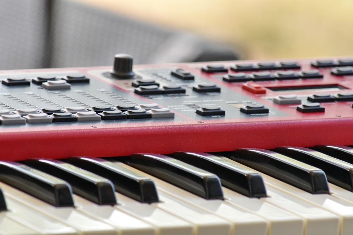 Tổng hợp, âm nhạc, đàn piano, âm thanh, Bàn phím, nhạc cụ, chơi, âm thanh, phòng thu, âm thanh