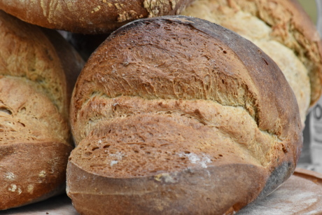 baked goods, barley, bread, homemade, organic, rye, breakfast, flour, food, wheat