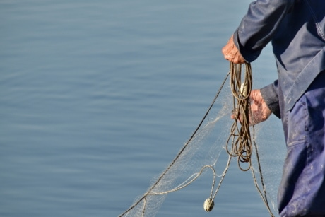 fishing, fishing gear, hands, rope, fisherman, water, line, ocean, people, man
