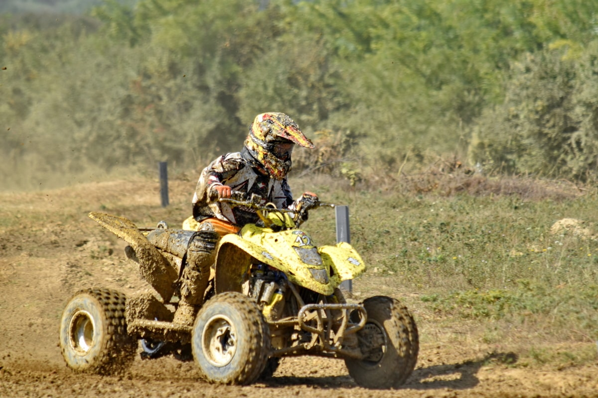 dirt, motocross, mud, race way, racer, tool, vehicle, machine, soil, dust