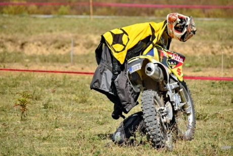 helmet, sport, competition, motocross, motorbike, race, fast, adventure, field, extreme