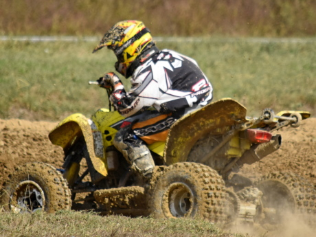 dust, dust bowl, motorcycle, motorcyclist, mud, racer, motocross, race, bike, vehicle