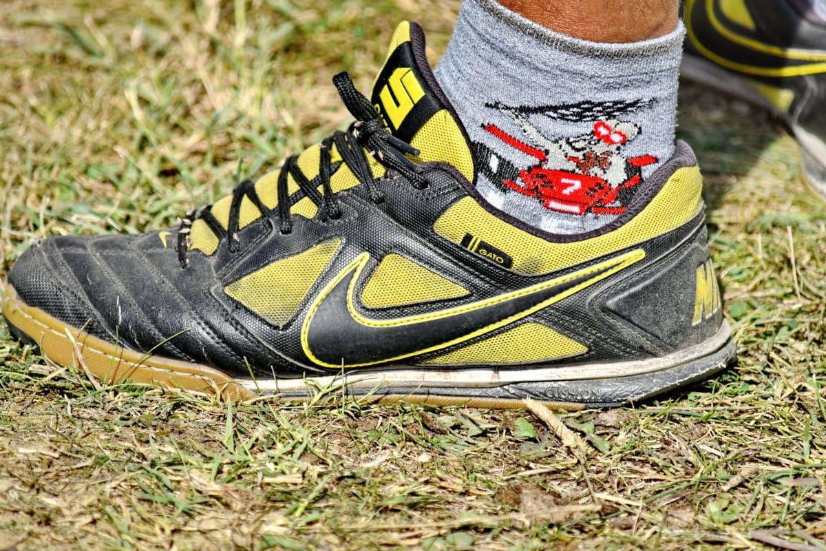 кожа, крак, обувки, двойка, обувки, спорт, маратонки, разходка, връзка за обувки, кал