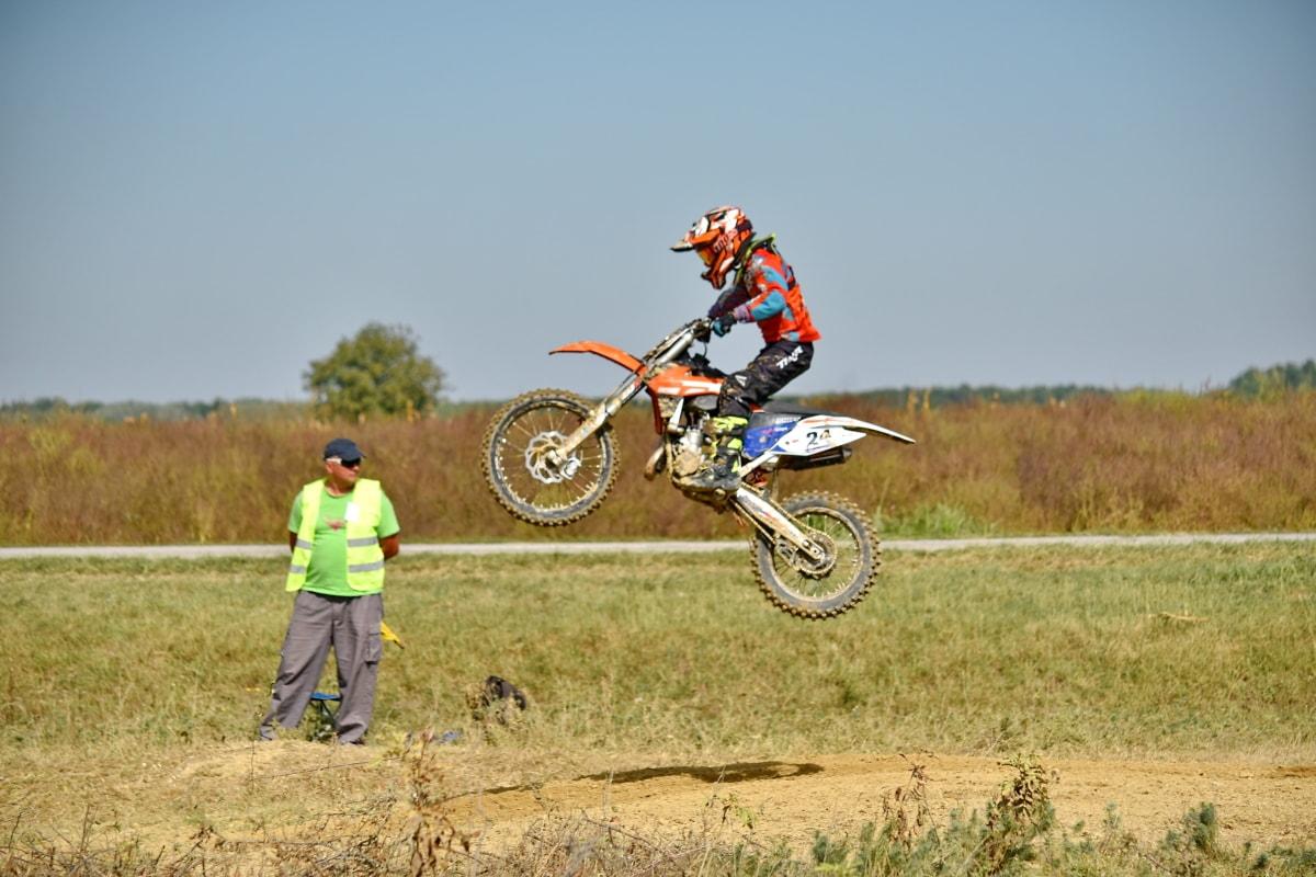 verseny, piszok, extrém, Ugrás, motocross, versenyző, közúti, Akció, aktív, tevékenység