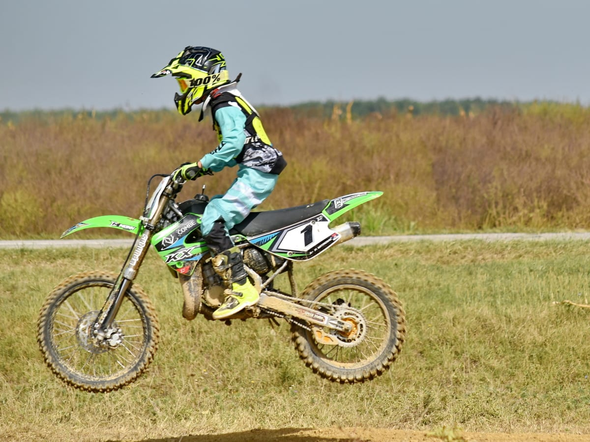 athlete, jump, motocross, race way, sport, action, adventure, biker, championship, competition