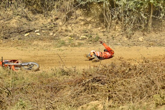 danger, excitement, extreme, injury, man, motocross, action, vehicle, outdoors, tree