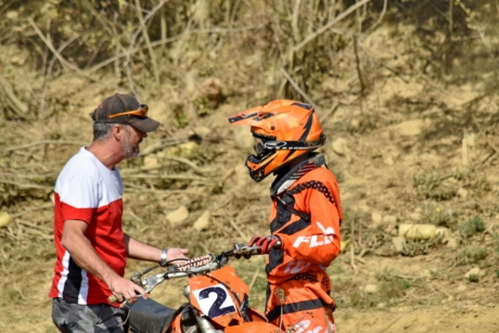 communication, motocross, people, side view, trainer, training program, man, adventure, recreation, outdoors