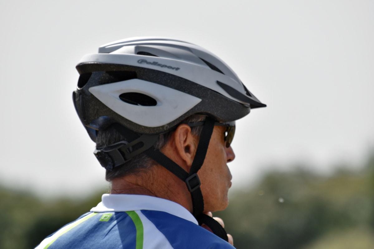 cyclist, head, helmet, man, sport, portrait, clothing, competition, people, championship