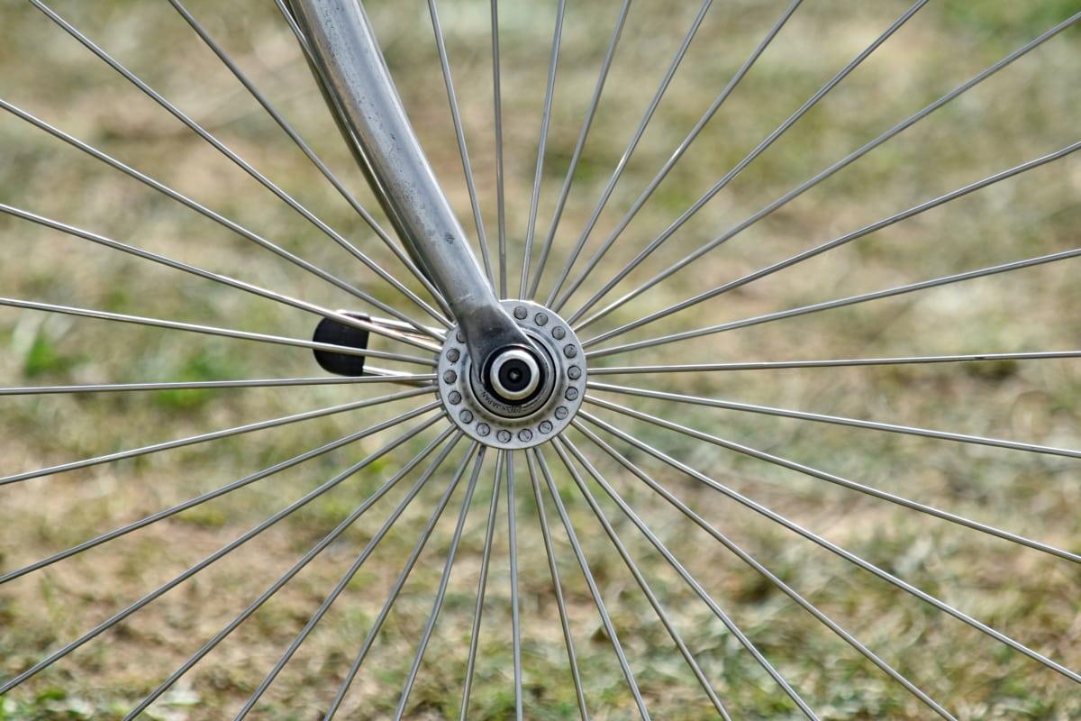 metal, Metallic, hjulet, natur, stål, udendørs, farve, sommer, runde, tæt på