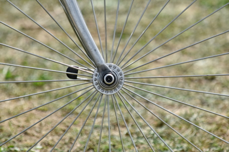 metal, metallic, wheel, nature, steel, outdoors, color, summer, round, upclose