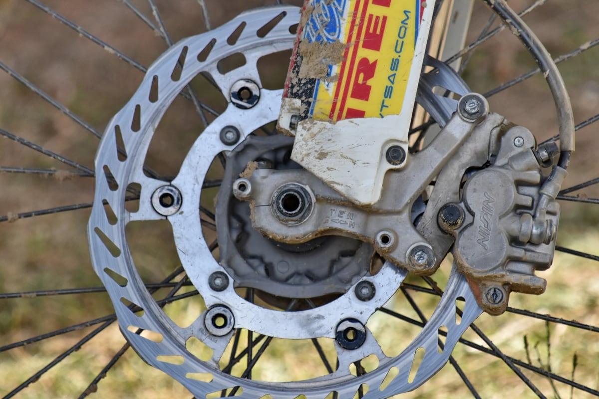 brake, circle, details, metallic, motorcycle, part, wheel, metal, gear, steel