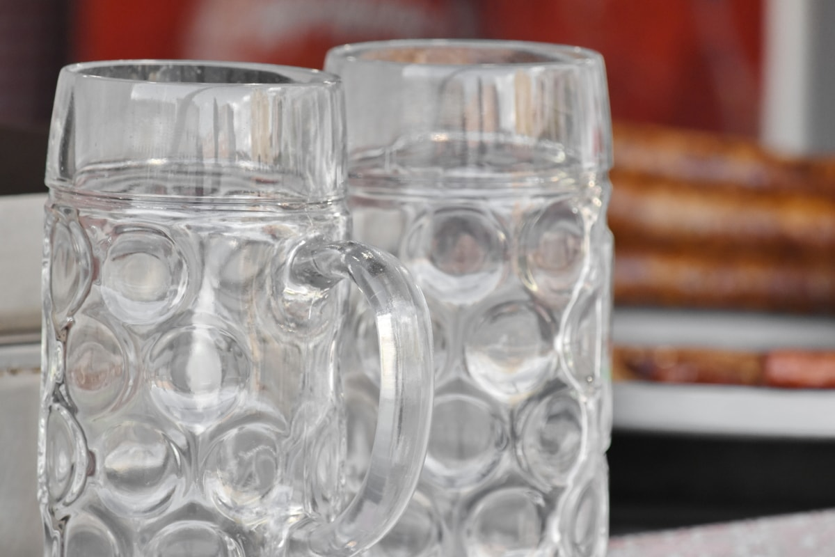 beer glass, crystal, detail, object, glass, container, empty, reflection, detailed, details