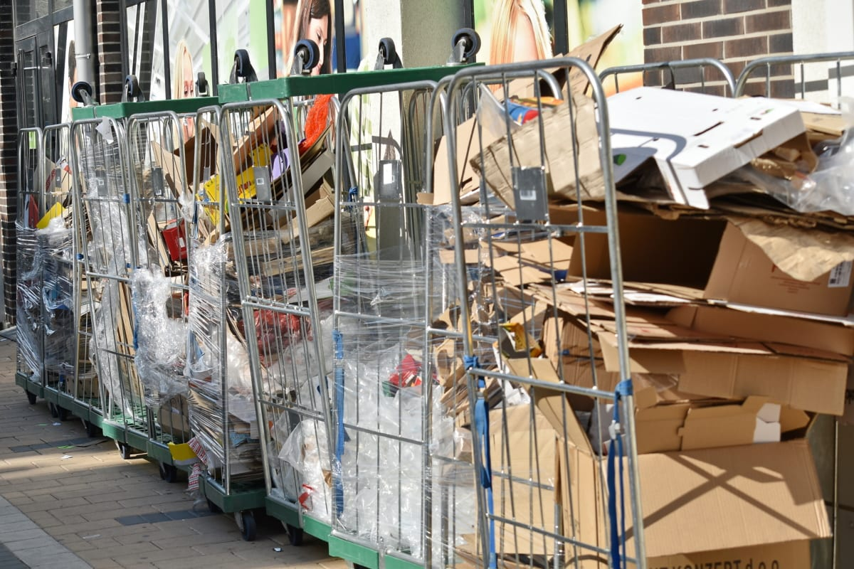 vuilnis, garbage collector, Prullenbak, industrie, recycling, bedrijf, stedelijke, houder, stad, koopwaar