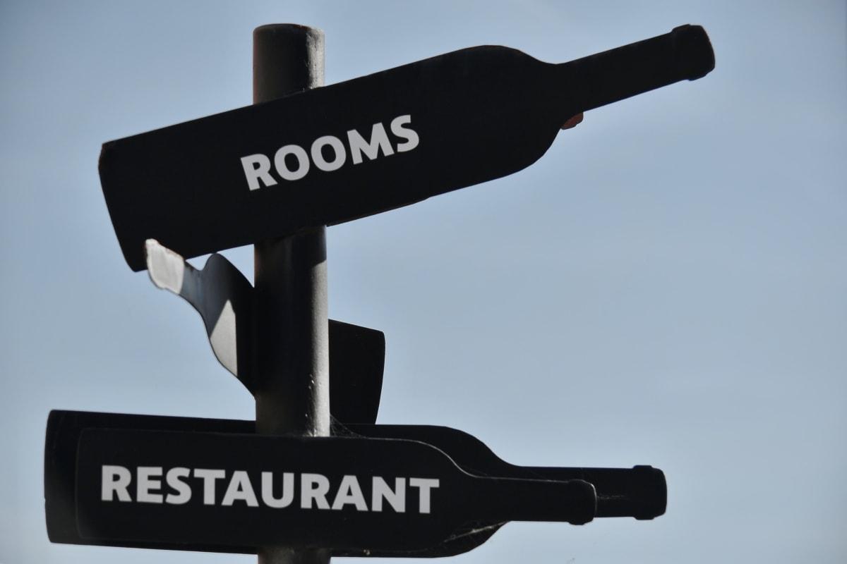 bottles, decoration, restaurant, room, sign, wine, outdoors, retro, nature, traffic