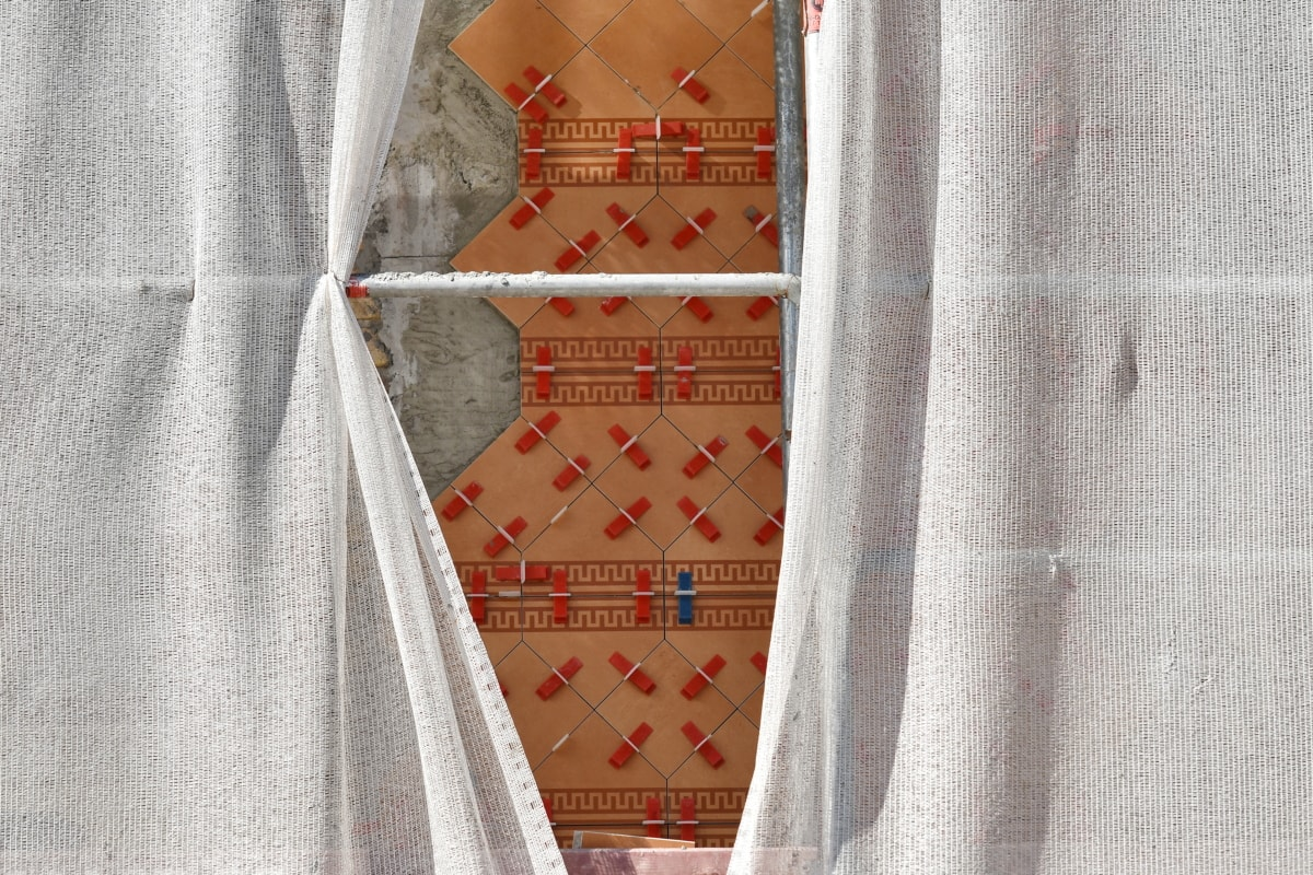 arabesque, construction, curtain, tiles, work, covering, fabric, design, fashion, old