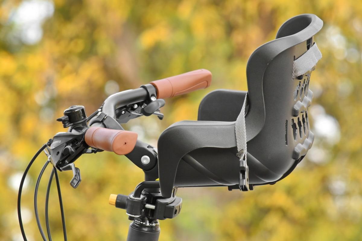 autumn season, bicycle, gear, gearshift, seat, steering wheel, outdoors, equipment, leisure, nature