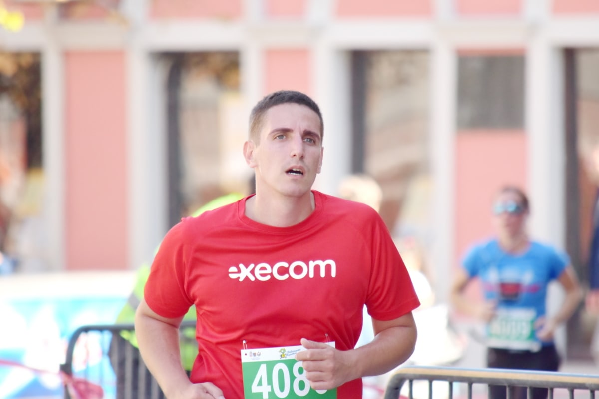 rekabet, Koşu, maraton, yarış pisti, yarış, çalışan, atlet, kişi, koşucu, adam