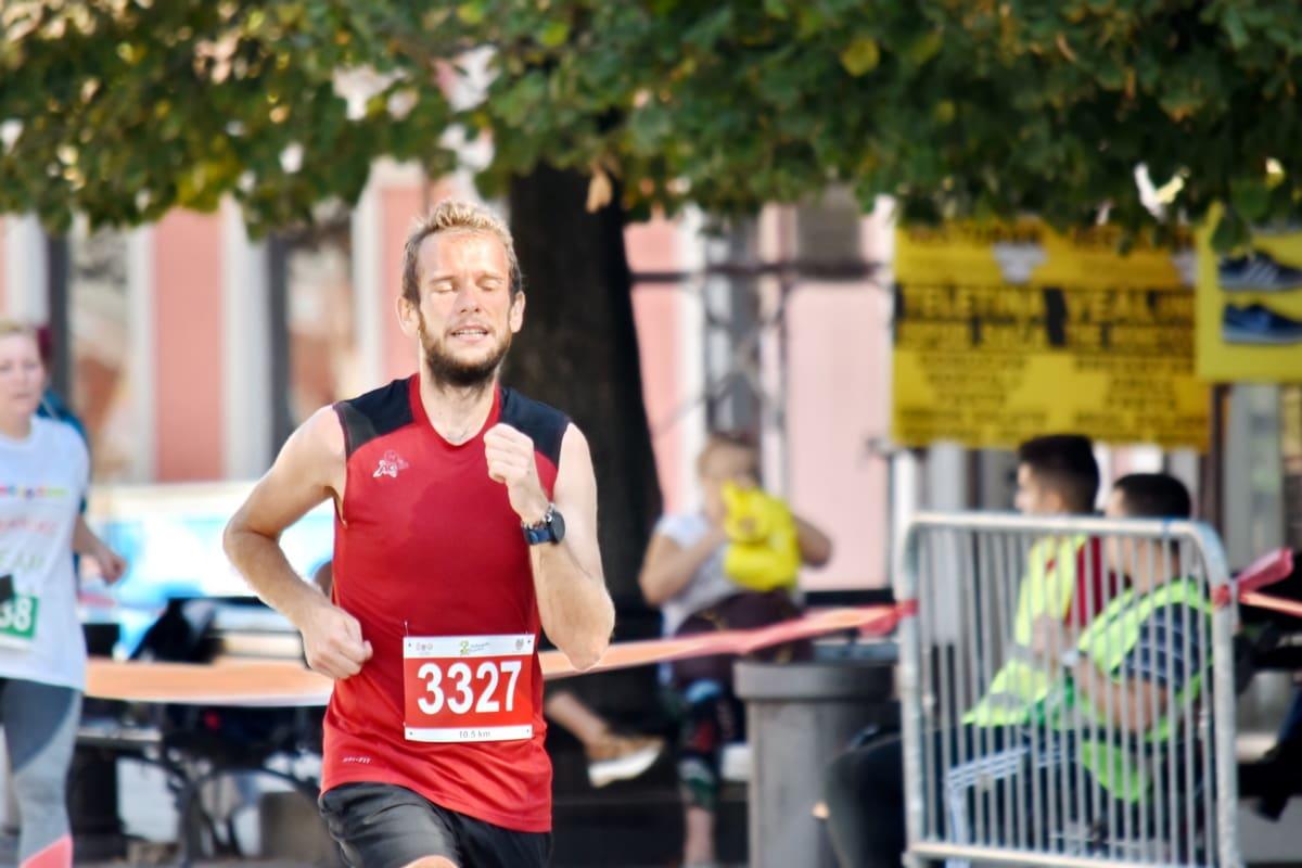 champion, championship, contest, foot race, marathon, running, person, sport, runner, athlete
