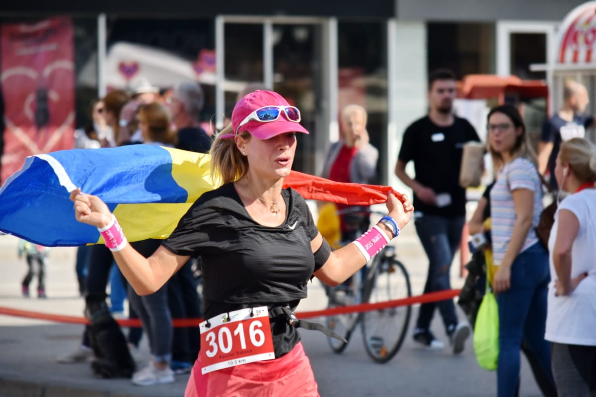 campion, concurs, concurs, Pavilion, cursa de alergat, maraton, mândria, România, Sport, strada