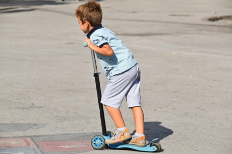 adolescence, boy, playful, playground, iron, sport, fun, child, skate, action