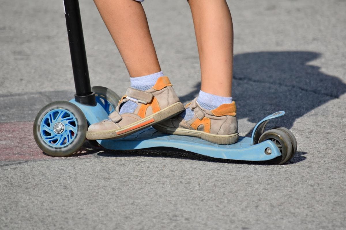 asfalt, Incaltaminte, Sandale, Jucarii, triciclu, roţi, recreere, exercitarea, pantofi, pantofi