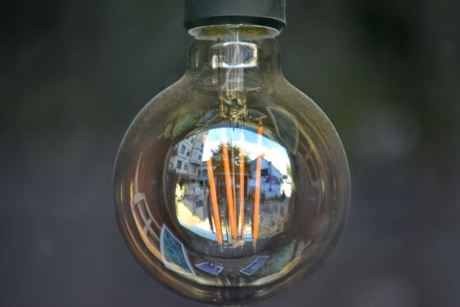 details, light bulb, outdoors, illuminated, lamp, electricity, glass, old, nature, antique