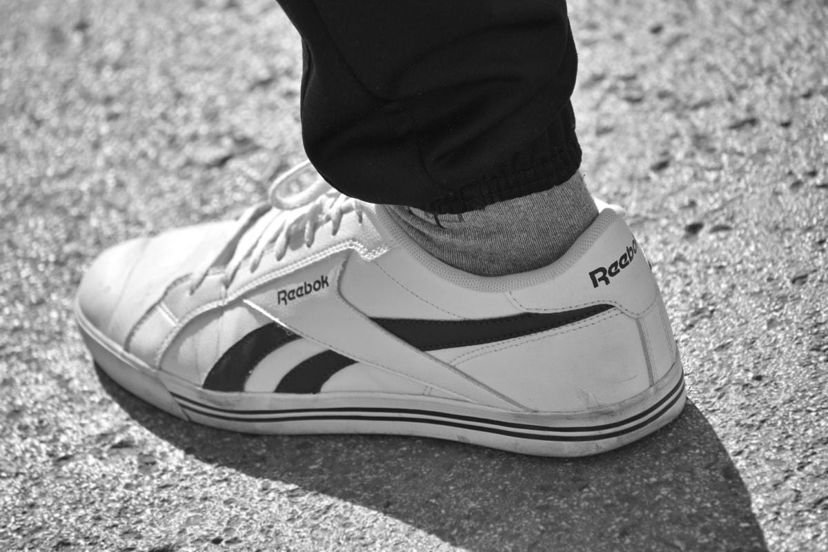 bianco e nero, famoso, moda, vecchio stile, scarpe da ginnastica, copertura, piedi, Calzature, Abbigliamento, coppia