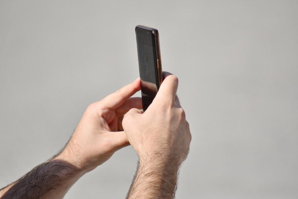 κινητό, χέρι, τηλέφωνο, τηλέφωνο, άνθρωπος, άτομα, αφής, τεχνολογία, σύνδεση, φορητό
