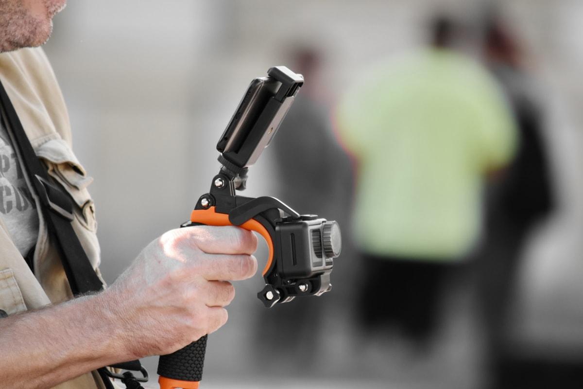 kameraet, fingeren, hånd, fotograf, fotojournalist, huden, videoinnspilling, mann, folk, teknologi