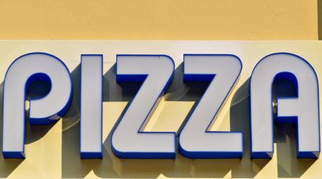 mainonta, markkinointi, Pizza, merkki, numero, typografia, aakkoset, teksti, kaupallinen, kaupankäynti